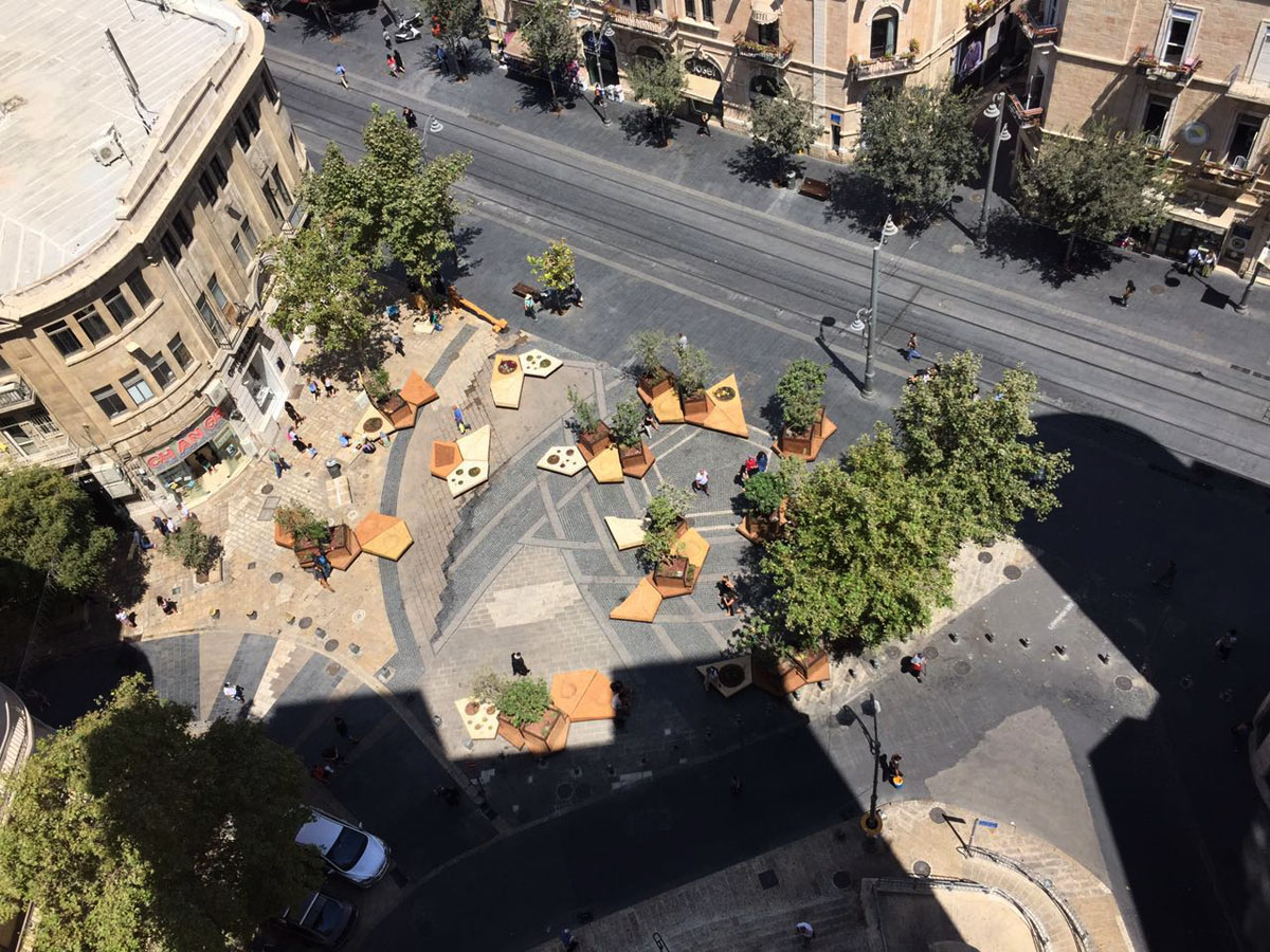 Temporary Urban Grove: Out of Zion